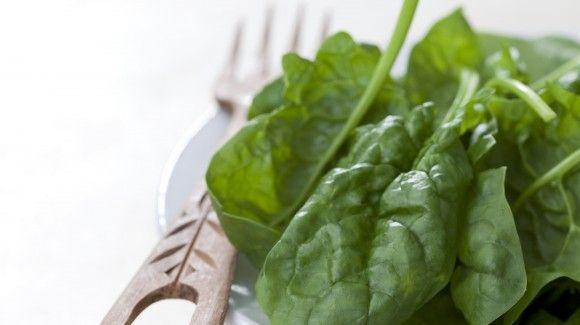 Spinazie munt salade