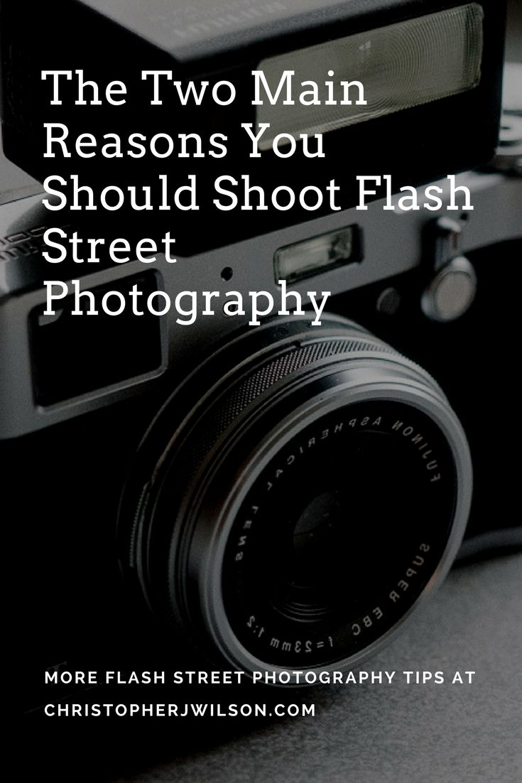 Ever wondered why people shoot flash street photography?