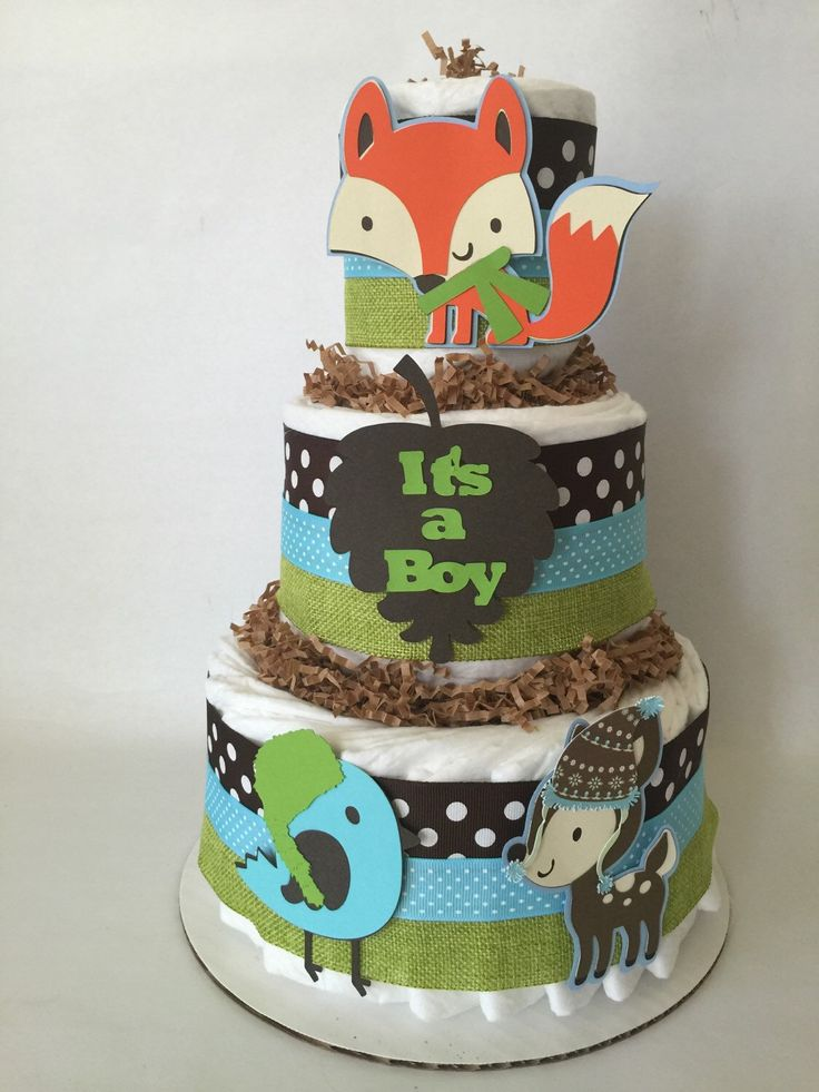 Boy Diaper Cake Decorations : 25+ best ideas about Diaper Cakes For Boys on Pinterest ...