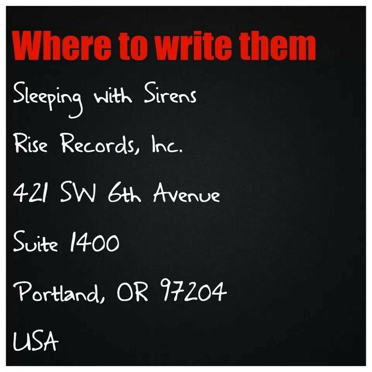Write to them WRITE TO THEM?! MARRY THEM.