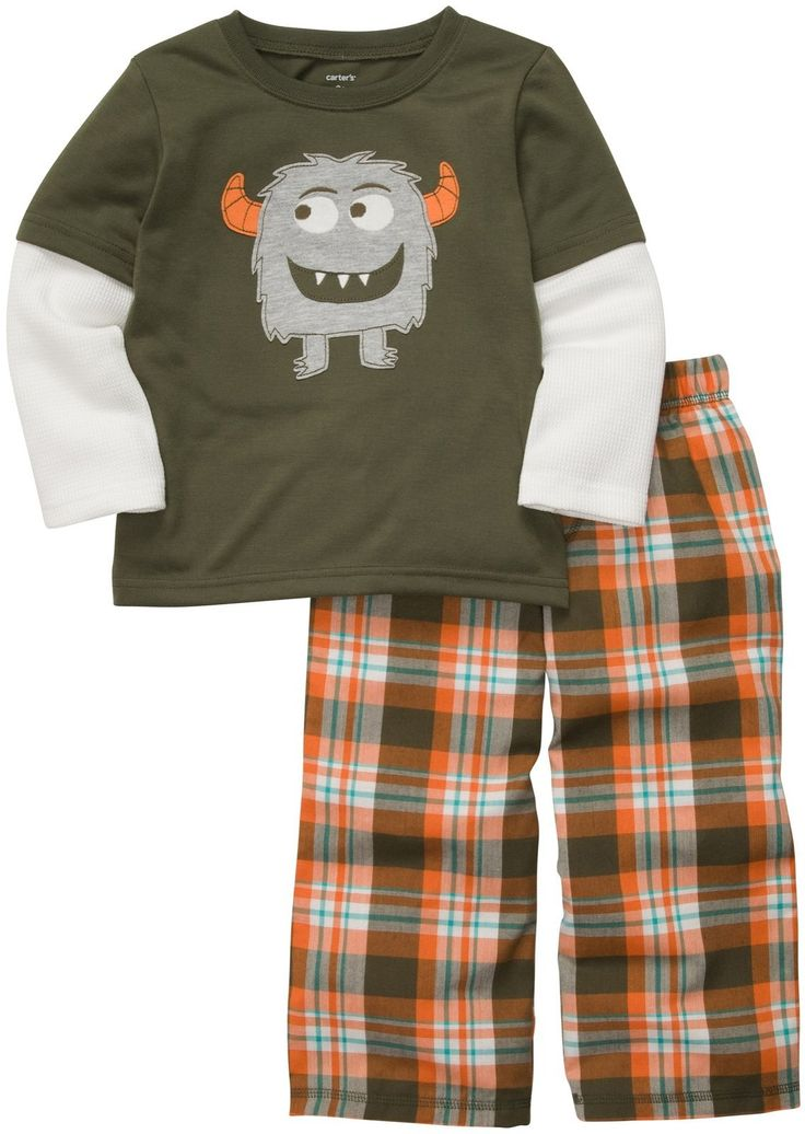 Carter's 2-Pc 2-Fer Set - Monster w/Plaid- 2T. Carters 2-pc 2-Fer Set - Monster w/Plaid Carter's is the leading brand of children's clothing, gifts and accessories in America, selling more than 10 products for every child born in the U.S. The designs are based on a heritage of quality and innovation that has earned them the trust of generations of families. .