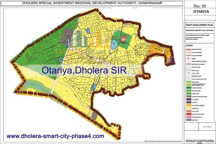 Map of OTARIYA, DholeraSIR #Dholera #DholeraSIR #DholeraSmartCity #Gujarat