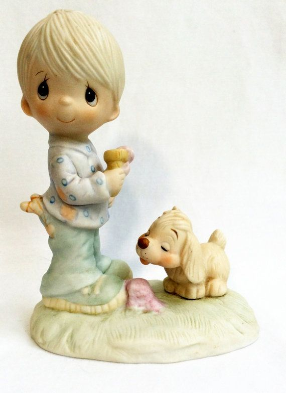 Vintage Precious Moments Collectable Figurine by DejaVuVintiques