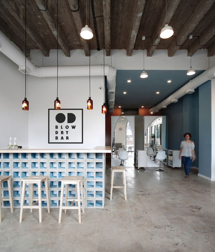 Gallery Of Od Blow Dry Bar Snkh Architectural Studio 1