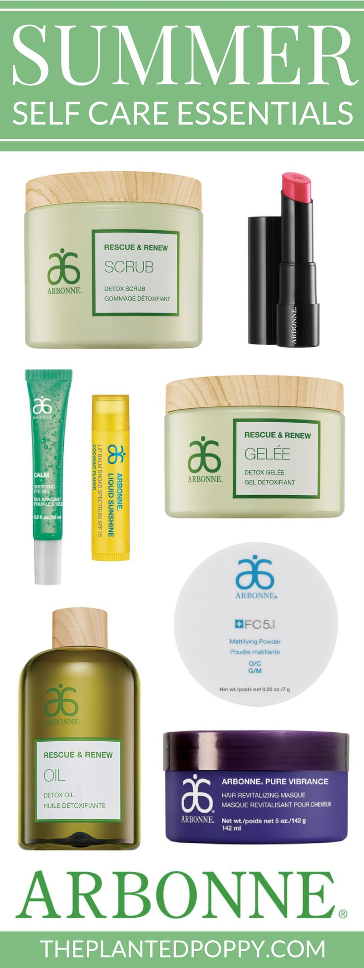 Treat yourself to summer self care that is vegan, cruelty-free, and free of toxic ingredients with Arbonne! Read top summer product picks and reviews from Mandi Marin, Independent Consultant, and then check out the full product line at mandimarin.arbonne.com
