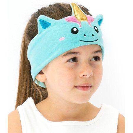 CozyPhones Kids Headphones Volume Limited with Ultra-Thin Speakers & Super Comfortable Soft Fleece Headband