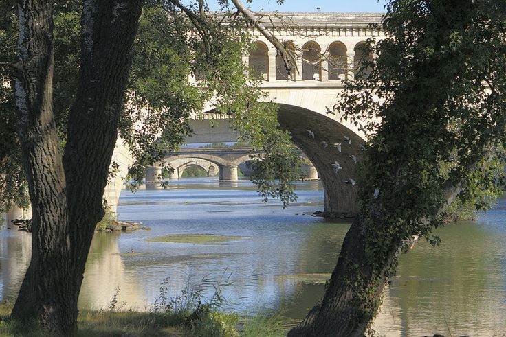Les ponts de Béziers (34) France