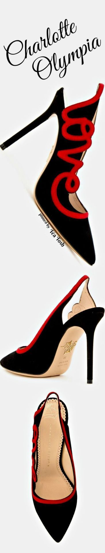 ❇Téa Tosh❇ Charlotte Olympia Love pumps #charlotteolympiaheelsred
