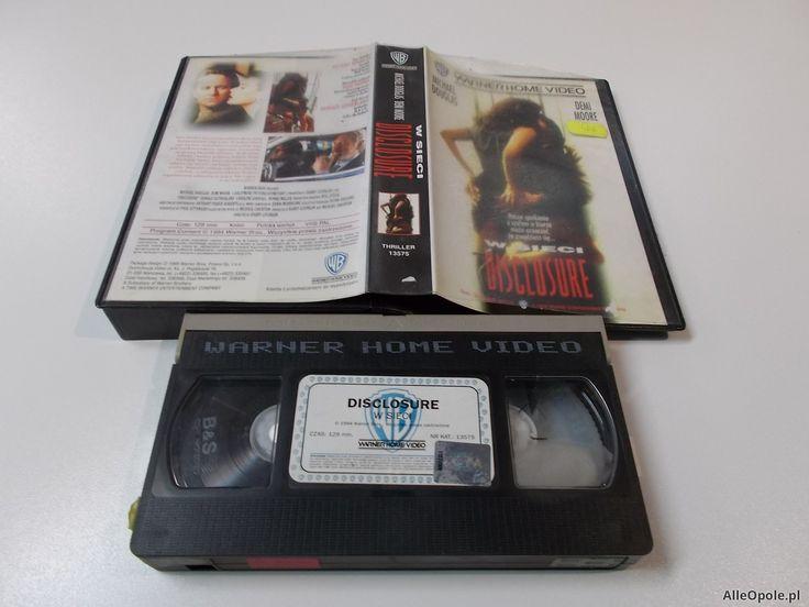 W SIECI -MICHAEL DOUGLAS - Kaseta Video VHS - Opole 1492 (Opole)