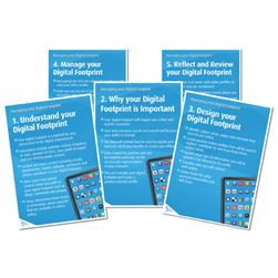 Managing Your Digital Footprint Posters