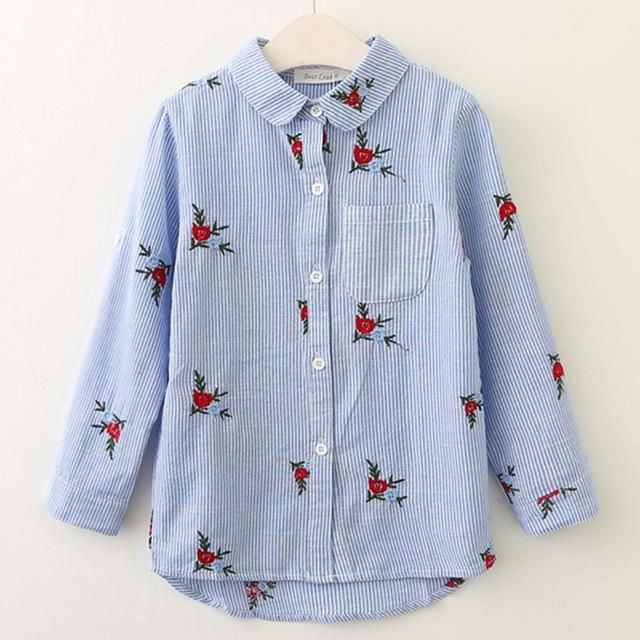 Girls Kids Blouses – Children blouses for girls – ChoosMeinStyle | Kids  outfits, Girls blouse, Baby girl shirts