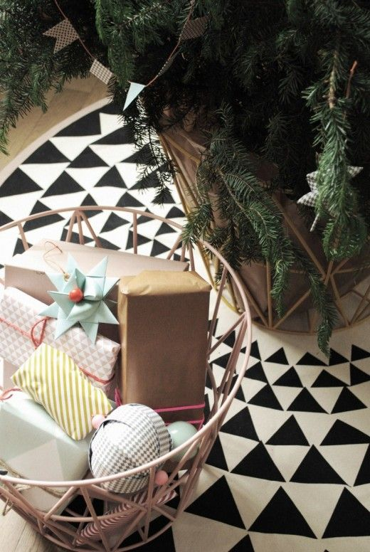 Christmas idea via Ferm Living