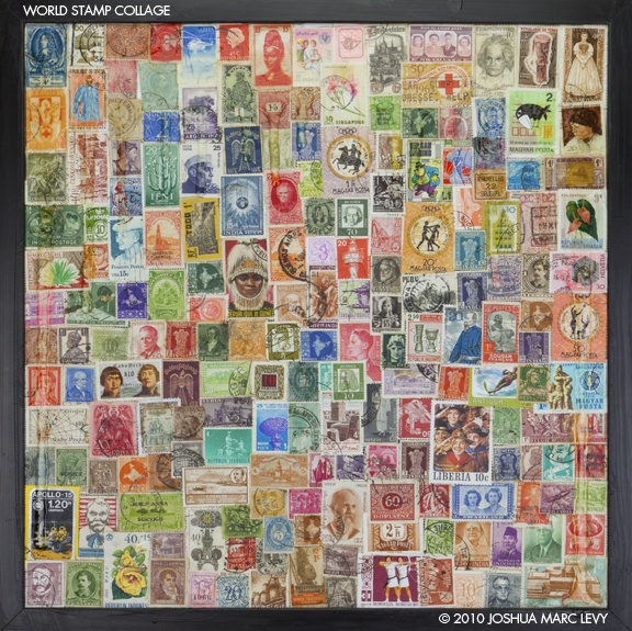how to set up a stamp collection