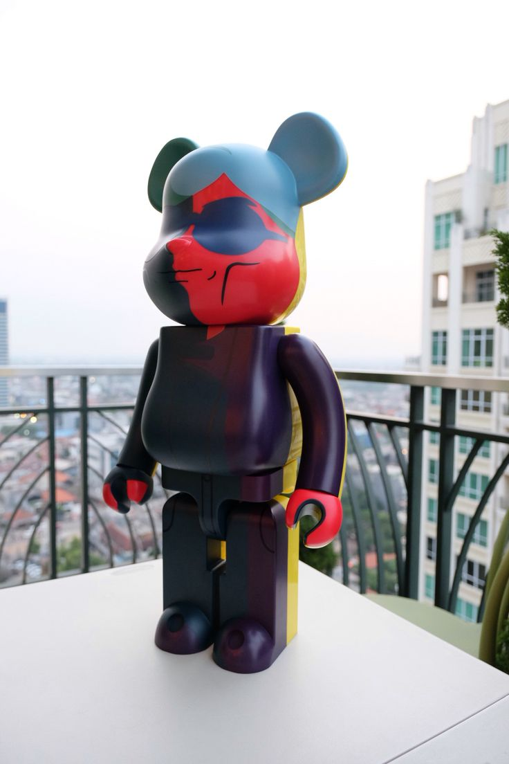 Andy Warhol Bearbrick 1000