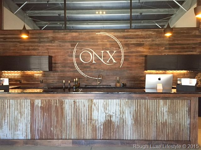 Rough Luxe Lifestye The Uber Chic Onx Tasting Room