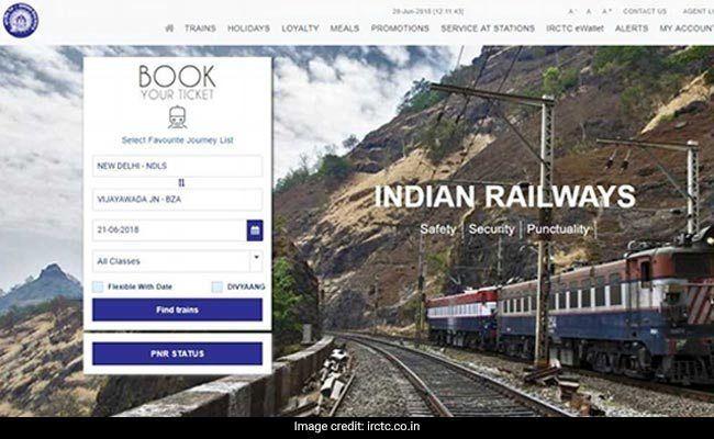 How To Make Indian Railways Tatkal Booking Through Its Online Ticketing Arm Irctc Tatkal Booking Rules And Tatk Indian Railways Train Ticket Booking Passenger