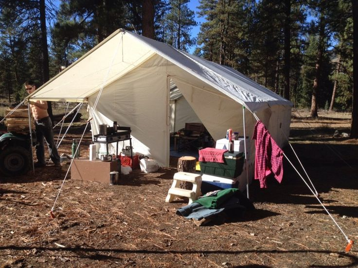 Elk Mountain Tents - Canvas Tents - Wall Tents - Outfitter Tents - Hunting Tents & 22 best Tenting it images on Pinterest | Camping ideas Tent ...