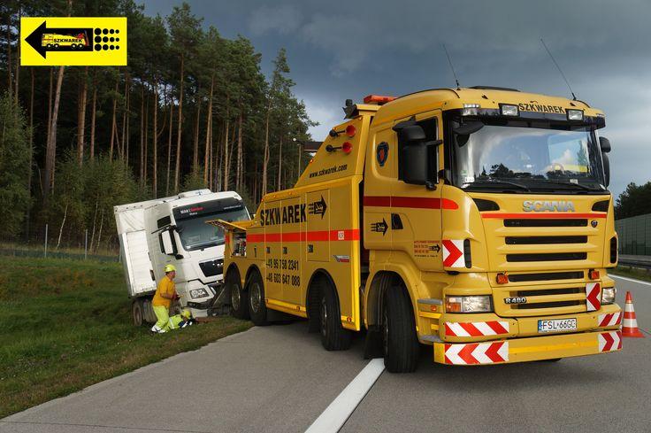 Pomoc Drogowa, Holowanie, Transport pojazdów osobowych, ciężarowych na terenie kraju i Europy. Holowanie, transport pojazdów z Niemiec - obsługa kolizji.