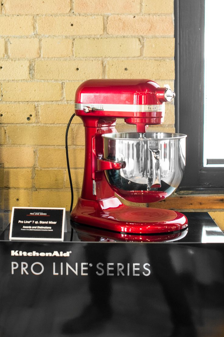 The KitchenAid® Pro Line® Series 7 Qt Bowl Lift Stand Mixer Looks Stunning