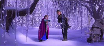 """Frozen (2013) - """"So she's a bit of a fixer upper, Her brain's a bit betwixt Get the fiance out of the way And the whole thing will be fixed We aren't saying you can change him 'Cause people don't really change We're only saying that love's a force that's powerful and strange People make bad choices if they're mad or scared or stressed But throw a little love their way, and you'll bring out their best True love brings out the best"""""""