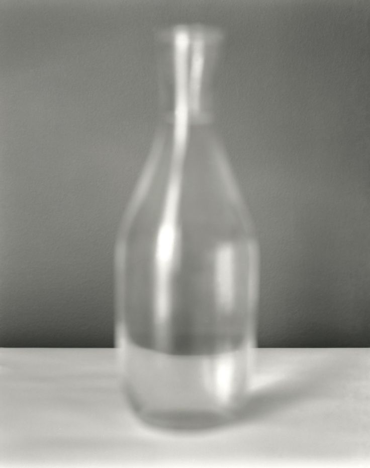 """Still life - Bottle""  -  Black & white B&W analog art film fine art photography - 2014 Konstans Zafeiri analogue photography"