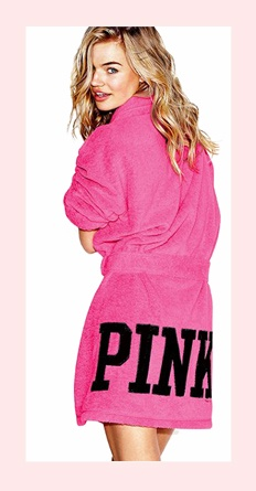 Victoria Secret Pink Robe would like this for when I get out the shower to do my makeup :)