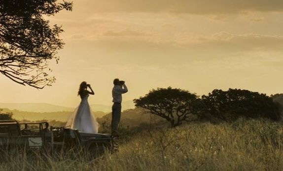 South Africa and an African safari are on many travelers dream lists. What better way to start your life together by taking your vows among the wildlife of the African bush.