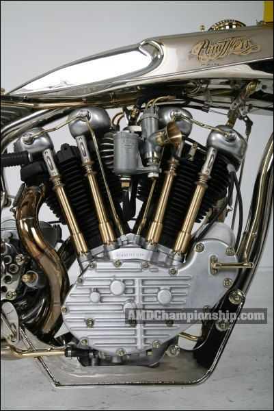 AMD World Championship, Thunderbike, bike details & gallery