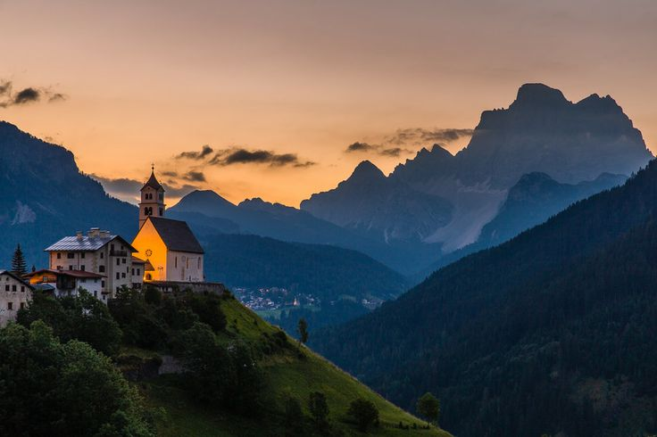 Church Morning mood in the mountains by Hans Kruse on 500px
