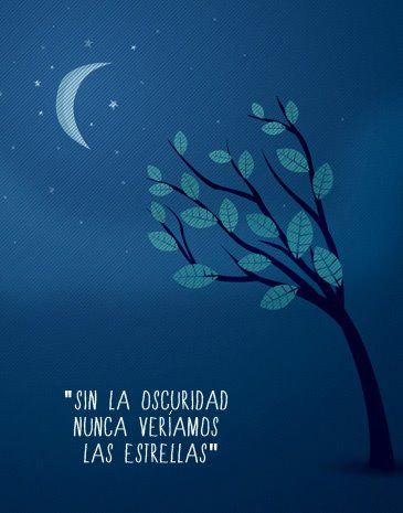 Me encantan las estrellas, no tanto la oscuridad...pero por ellas merece la pena correr el riesgo ;-)