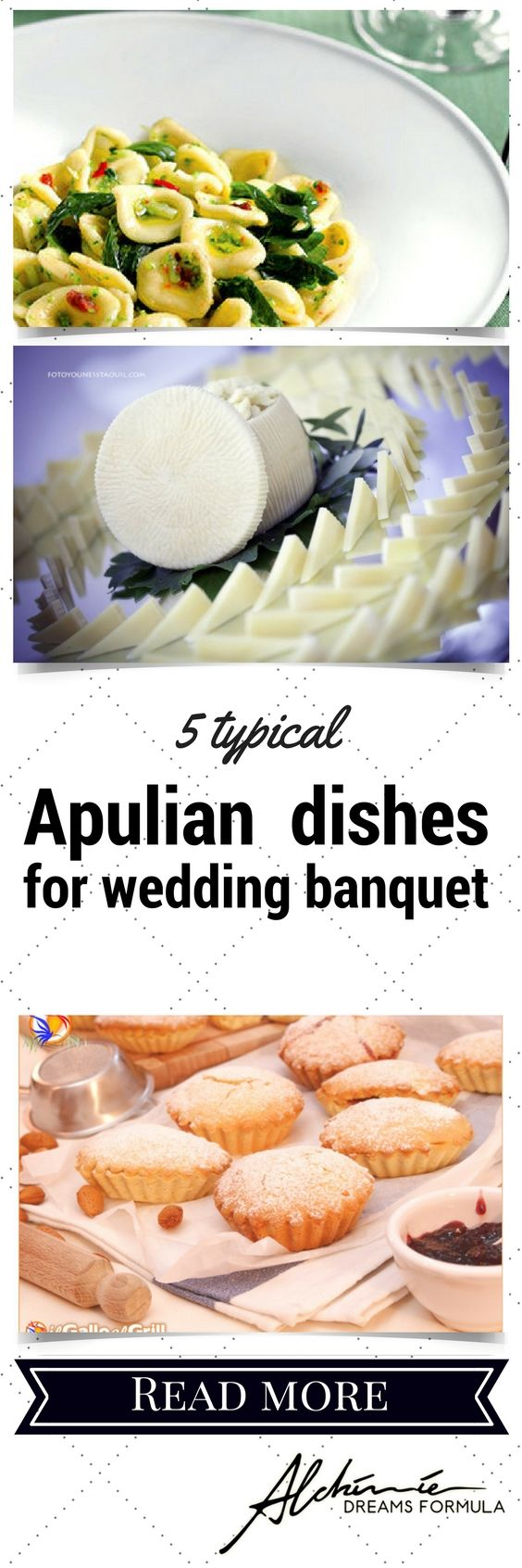 5 typical Apulian must-have dishes for your wedding banquet