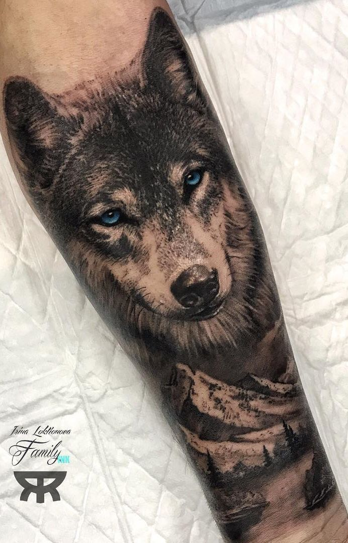 40 Wolf Tattoos Pictures for Inspiration – Pictures and Tattoos