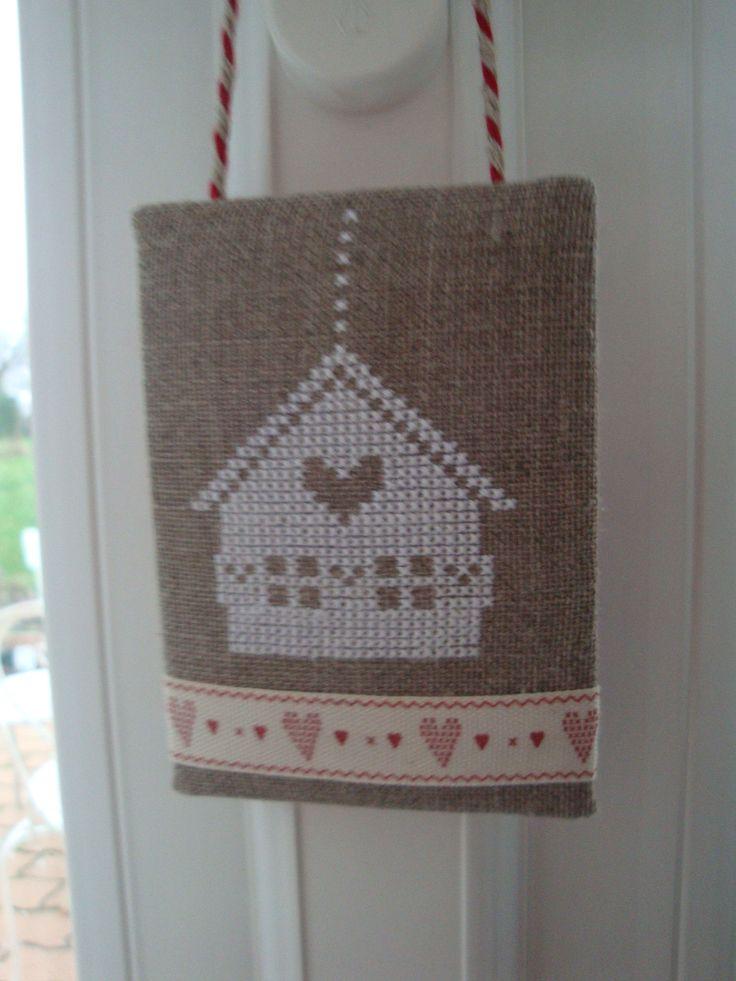 Decorativo #colgador de bienvenida al hogar