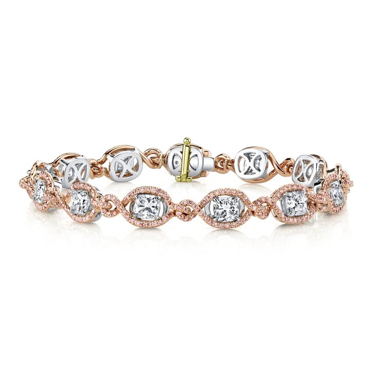 Delicate Dream in Pink and Gold Bracelets