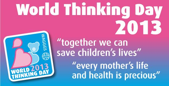 "Emy Cooks: #World Thinking Day ""Child Mortality and Maternal Health"" Día Mundial del pensamiento ""Mortalidad infantil y salud materna""--#GirlScout"