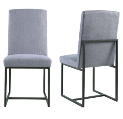 SIX IN STOCK  Standings Grey Dining Chair  19 W x 22 75 D. 86 best 3rd floor images on Pinterest   Black box  Stage lighting