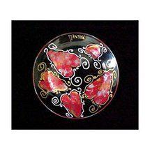 Walmart: Bellissimo Valentine Treasure Design Hand Painted Dinner/Display Plate