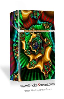 A more arty design for a cigarette case from Smoke-Screenz...anything is possible!