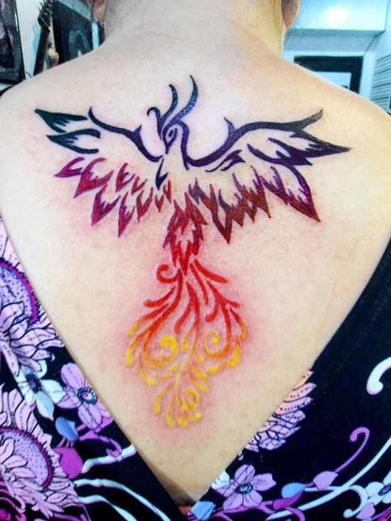 Phoenix Rebirth Tattoo | ... + Phoenix Tattoos for Men and 40 Games Tattoo Designs For Game Lovers