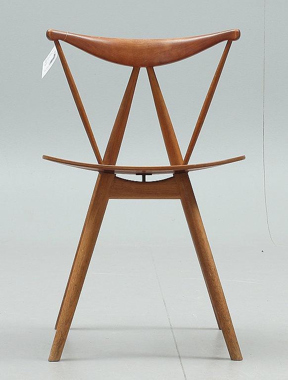 STOL, 1950-60-tal, märkt Illums Bolighus, Köbenhavn, Danmark.