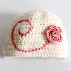 Easy-peasy crochet beanie.  Plus other easy projects and kids coloring pages!