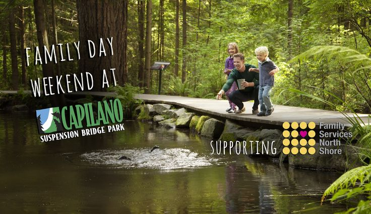 Load the family in the car and come celebrate BC Family Day Weekend with us at Capilano Suspension Bridge Park! We will be offering a BC Family Day special on February 6, 7 & 8, 2016: BC residents receive a family annual pass for two adults and one or two children up to the age …
