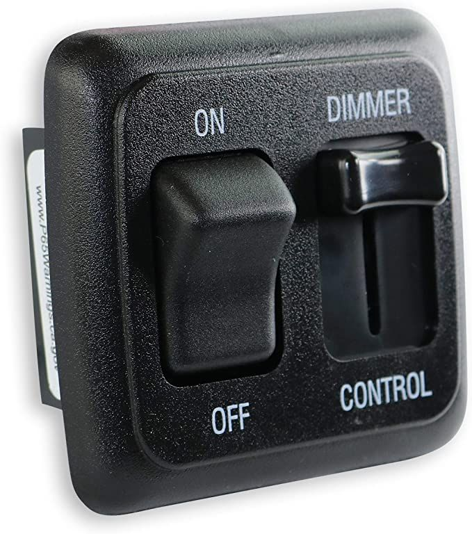 Amazon Com 12 Volt Dc Dimmer Switch For Led Halogen Incandescent Rv Auto Truck Marine And Strip Lighting Large Sl In 2020 Strip Lighting Dimmer Switch Dimmer