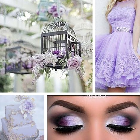 Quinceanera Dama Dresses | Lavender Themed Quinceanera | Quinceanera Ideas |