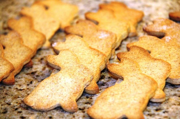 Stranded in Cleveland: Homemade Graham Crackers   Recipe   Bunny Graham Crackers