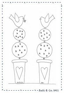 birdies, this would be great to have someone make your cake toppers and use this design.