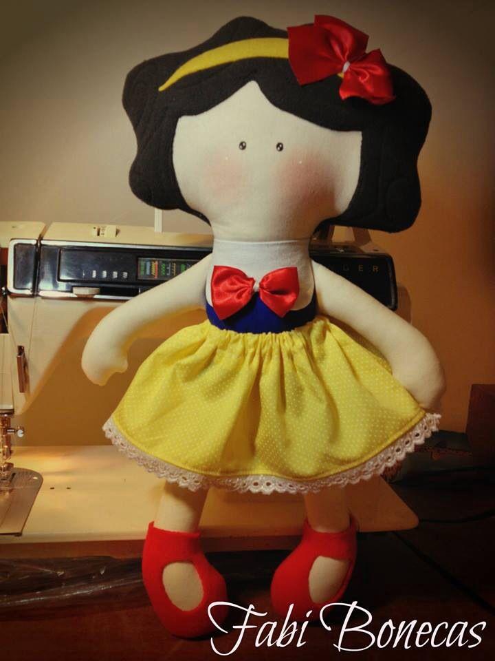 Snow White Rag Doll