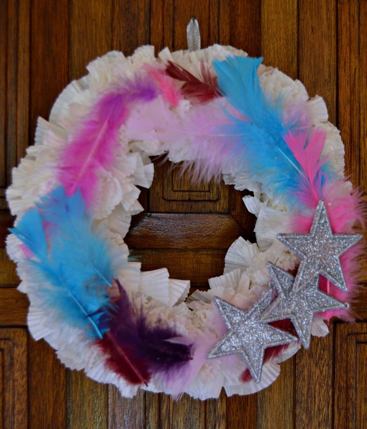 235 Best Images About Wreath Crafts On Pinterest Ornament Wreath Candy Cane Wreath And Christmas