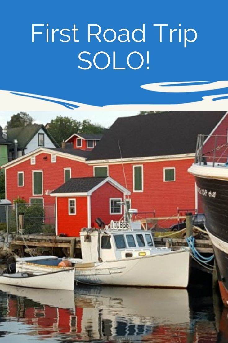 My First Solo Road Trip Nova Scotia Road Trip Newfoundland Travel Trip