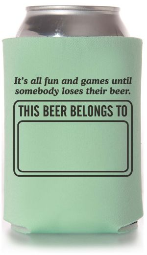 Funny Can Coolers ~ Ideas about husband th birthday on pinterest
